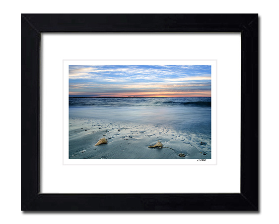 Sunrise at the Beach - Framed