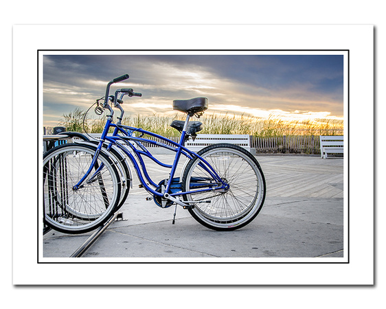 bicycle themed note cards