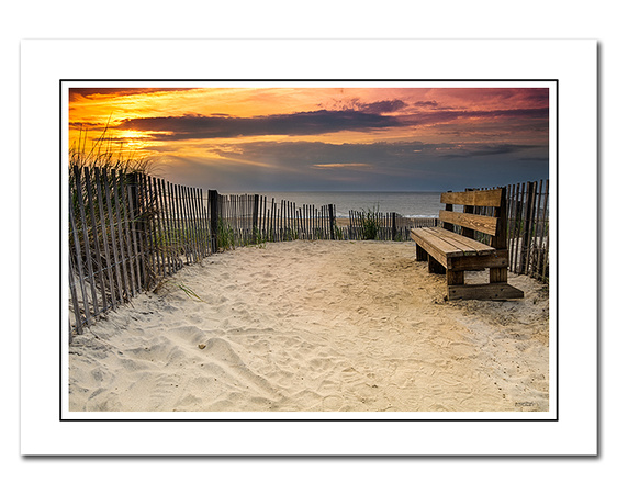 bethany beach note cards